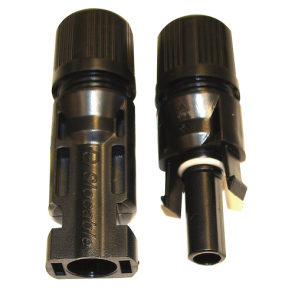 Conector MC4, Hembra/Macho 4mm/12AWG