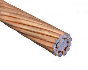 Cable acero Cooperweld 7 N°10 Awg 40%Hs